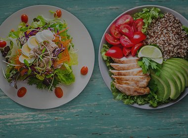 CHOOSE YOUR MEAL PLAN - MEALS to suit your health goals
